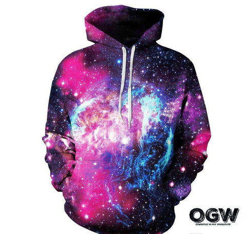 "Galaxy Collection Series Hoodie ""Nebulas""  OG WAREHOUSE - OG WAREHOUSE"