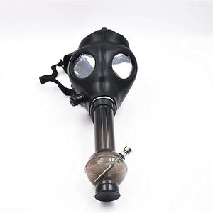 Silicone Gas Mask w/ Pipe