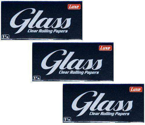 Clear Glass rolling papers [product_tag] OG WAREHOUSE - OG WAREHOUSE