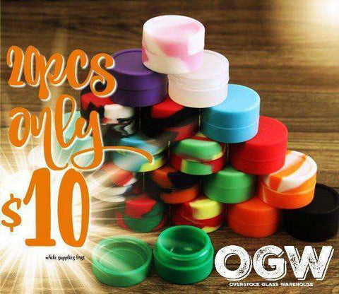20 pcs 3ML silicone Jars [product_tag] OG WAREHOUSE - OG WAREHOUSE