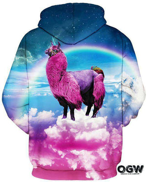 Magical Unicorn Llama Hoodie [product_tag] OG WAREHOUSE - OG WAREHOUSE