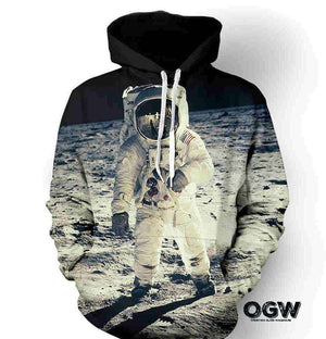 Man on the moon Hoodie