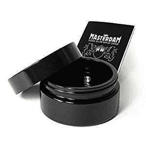 Masterdam 100 ML Stash jar UV Glass Smell Proof