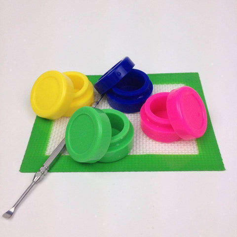 5pk silicone container  OG WAREHOUSE - OG WAREHOUSE