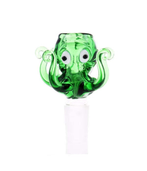 Octopus glass bowl