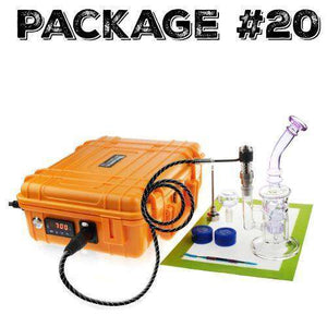 "Package #20 - Ecoil Box + 9"" Glass Pipe + Accessories"
