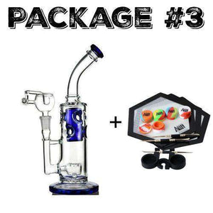 Package #3 Holy Ship Glass + Dab Kit
