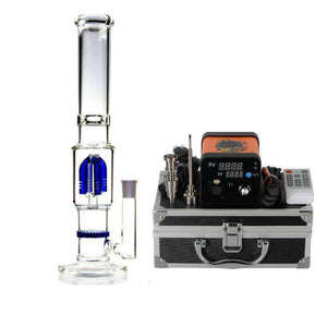 "E Nail Package Deal w/ 10"" Small Stack Glass"