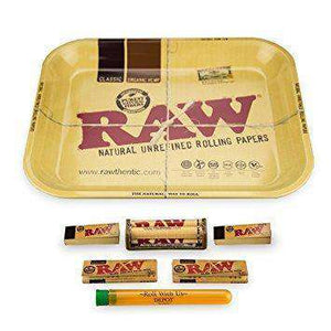 Raw Rolling Tray Combo Tray 7 items - Large