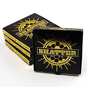 Dispensary Packaging by Shatter Labels 3 x 3