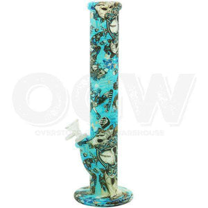 "13"" Silicone Glow in the Dark UV Pipe"