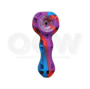 Silicone Bowl with Glass Hybrid insert