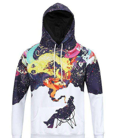1982 Space JAZZ Smoke Hoodie [product_tag] OG WAREHOUSE - OG WAREHOUSE