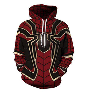 Spider Man Evolved Hoodie Pullover