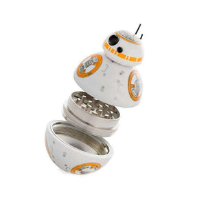Herb Grinder BB-8 Star Wars With Pollen Catcher