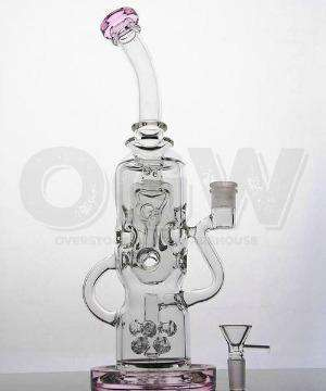 "11"" Strawberry Vine Glass Pipe"