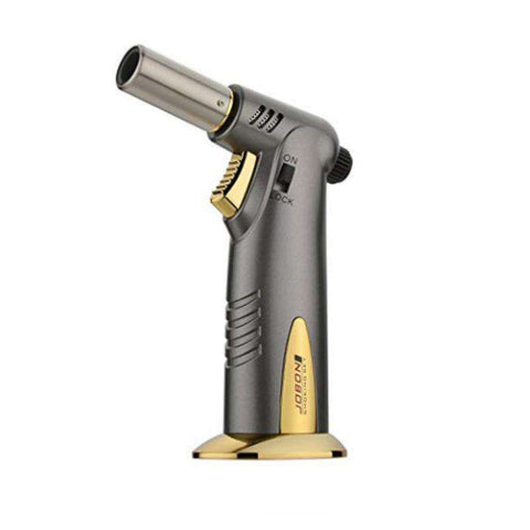 Refillable Adjustable Flame Lighter with Safety Lock