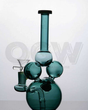 "7"" Tri-Ball Glass Pipe [product_tag] OG WAREHOUSE - OG WAREHOUSE"
