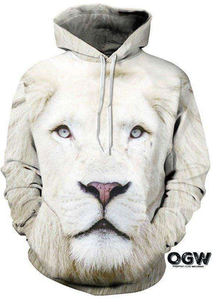 White Lion Hoodie [product_tag] OG WAREHOUSE - OG WAREHOUSE