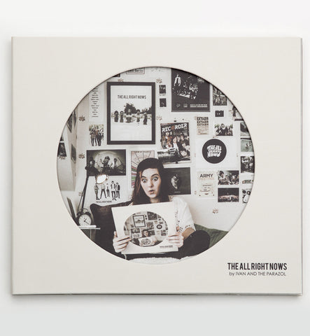 The All Right Nows CD - front