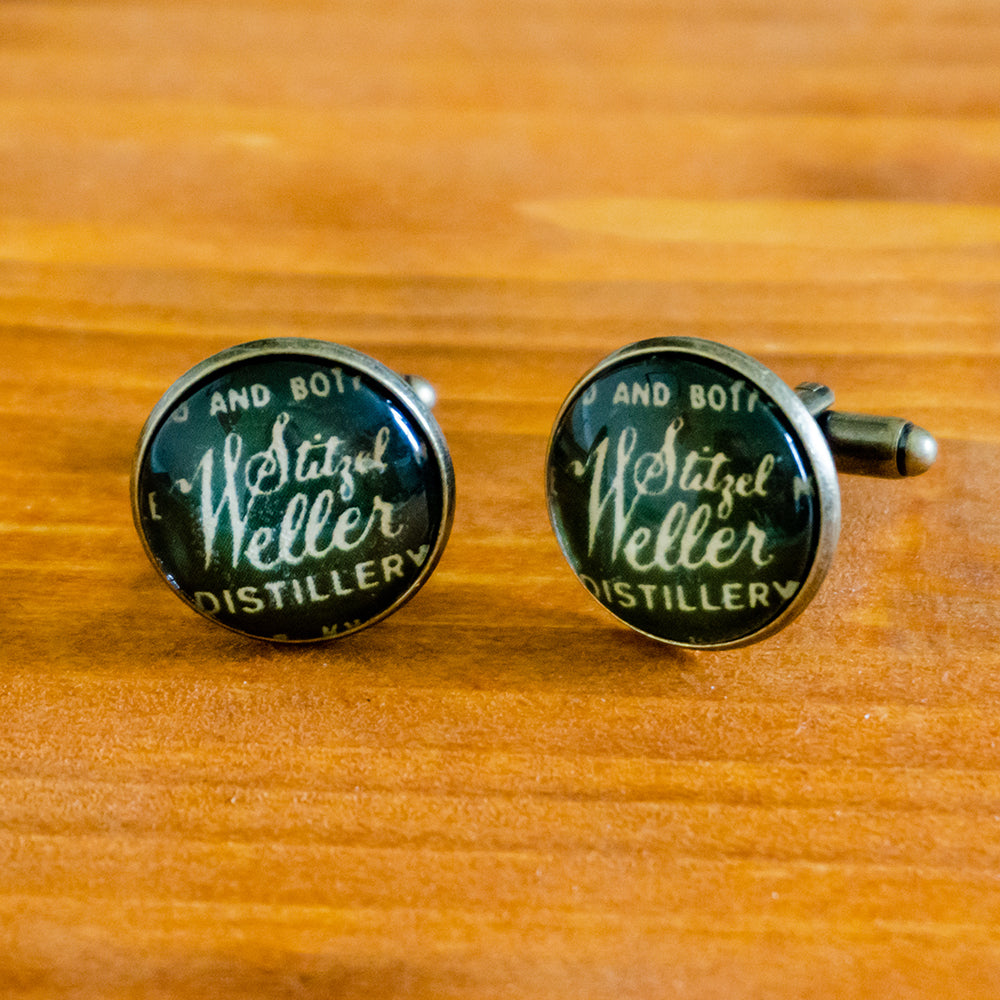 Stitzel Weller (1962) Cuff Links - Green