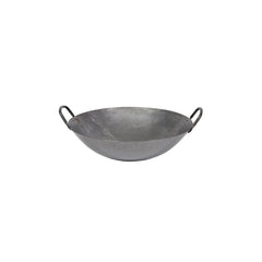 14 Inch Carbon Steel Wok - Medium