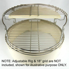 Large Adjustable Rig Half Stone/Grid Bundle - Large BGE