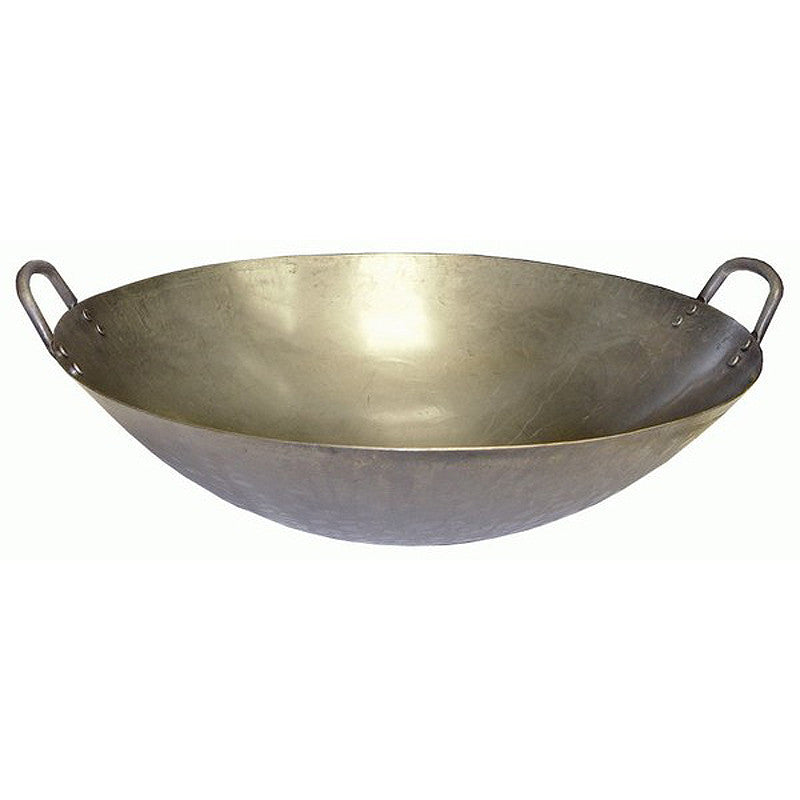 16 Quot Carbon Steel Wok For Large Amp Xl Size Ceramic Grills