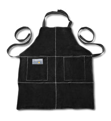Leather Grill Apron - Black