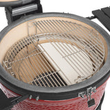 Kamado Joe Classic Joe w/ Cart, Side Shelves KJ23RHC