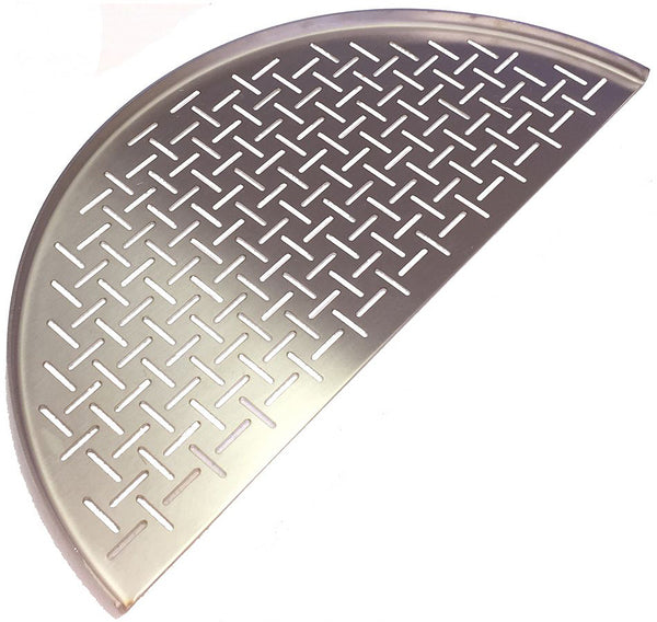 Kamado Joe Half Moon SS Grate (Fish & Veggies) - Big & Classic Joe HSSCGFV