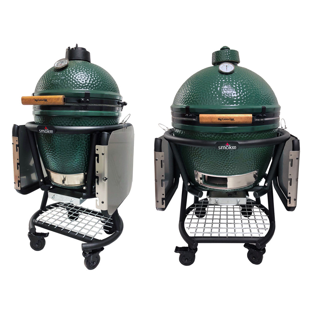 Cuna Cart Redifining Style Functionality For The Big Green Egg