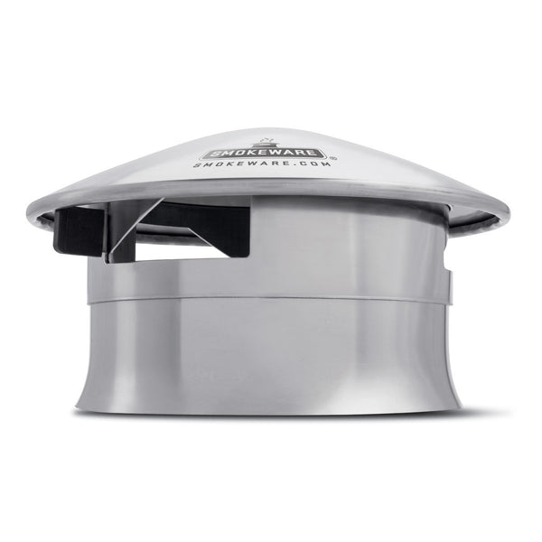 Smokeware BGE Stainless Steel Vented Chimney Cap
