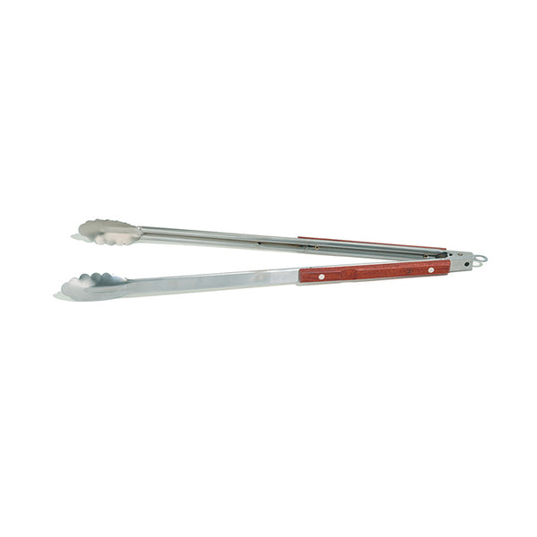 "21"" Stainless Steel Tongs"