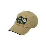 Stonewashed Khaki Hat - Big Green Egg