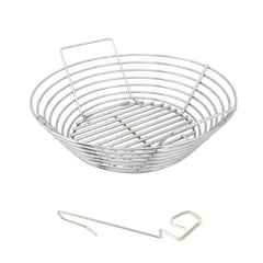 Classic Kamado Joe, Saffire, Broil Keg, Akorn Stainless Kick Ash Basket by Kick Ash KAB-CJ-SS