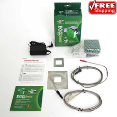 EGG Genius Temperature Controller Powered by Flame Boss - Big Green EGG 121029