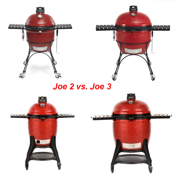 Compare Joe 2 vs. Joe 3