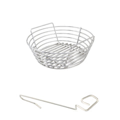 Joe Junior Kamado Joe, Akorn Junior Stainless Kick Ash Basket by Kick Ash - KAB-JJ-SS