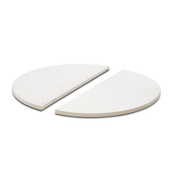 Kamado Joe Half Moon Deflector Plates (Pair) - Big & Classic Joe HDP