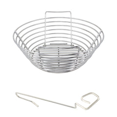 Medium Big Green EGG Stainless Kick Ash Basket by Kick Ash - KAB-MD-SS