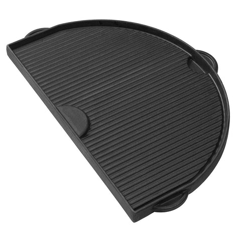 Ribbed side of Primo's Cast Iron Griddle