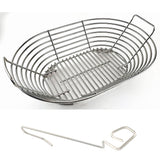 Primo XL Stainless Kick Ash Basket, KAB-OX-SS