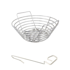 Small Big Green EGG Stainless Kick Ash Basket by Kick Ash - KAB-SM-SS