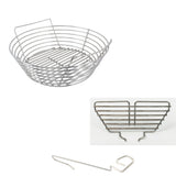Vision, Pit Boss 22, LG 22, XL Grill Dome Stainless Kick Ash Basket, KAB-VB-SS