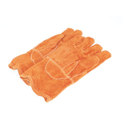 thick welding gloves to handle hot objects