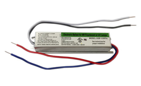 4W Electronic Ballast for 4W UV or Florescent Bulbs