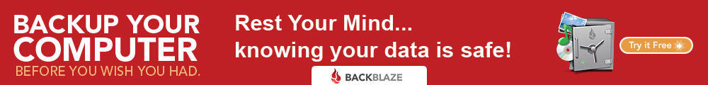 Backup Your Computer With BackBlaze!
