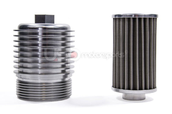 DSG Cool Flow Aluminum Filter Housing w/ Stainless Steel Filter