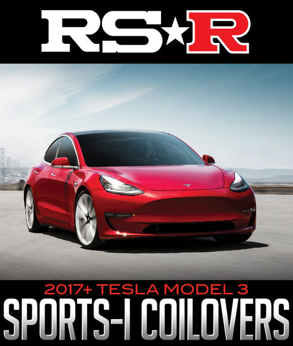 RS-R SPORTS-I COILOVER SYSTEM: 2017+ TESLA MODEL 3